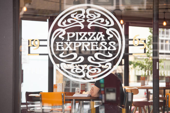 1100 jobs are at risk at Pizza Express