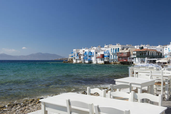 Mykonos is one of the seven Islands people will need to quarantine from