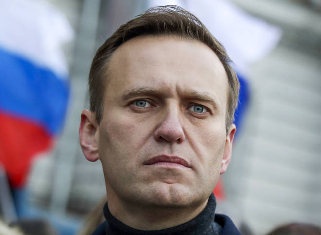 Alexei Navalny fell ill on a flight to Moscow and had been in an induced coma since 22 August