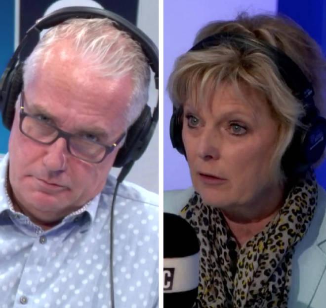 Anna Soubry failed to impress Eddie Mair with her Ken Clarke impression