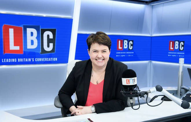Ruth Davidson joins LBC to host a new Sunday night show from 9-10pm