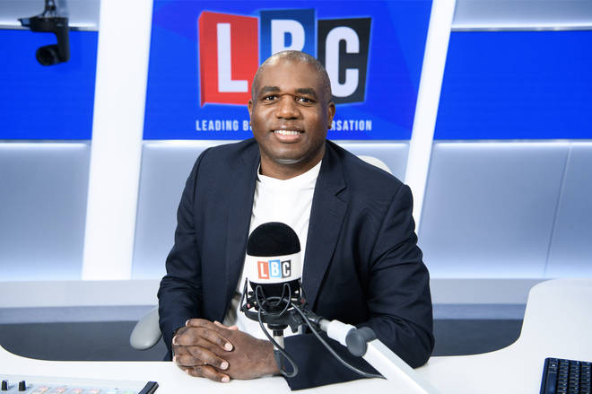 David Lammy will host his own regular Saturday show from 4pm to 7pm starting this weekend