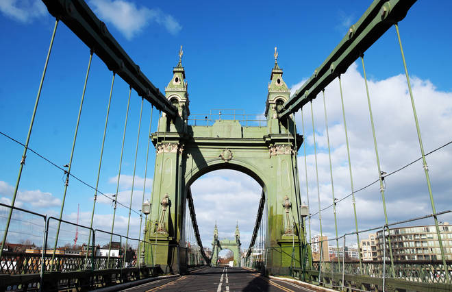 Hammersmith Bridge has been closed to motor traffic since April 2019