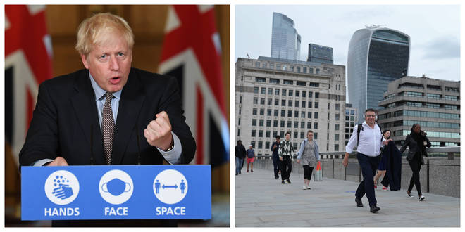 Boris Johnson introduced new restrictions for gatherings on Wednesday