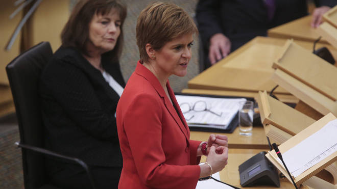 Nicola Sturgeon announced the changes today