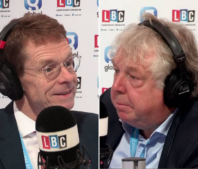 Andy Street with Nick Ferrari