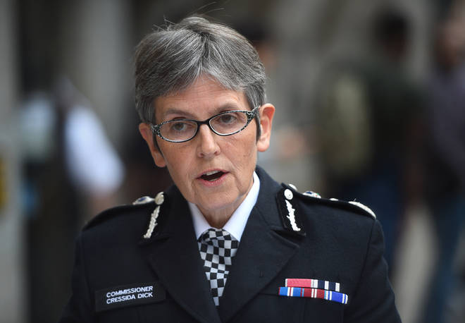 Met Police chief Dame Cressida Dick has rejected her force is racist