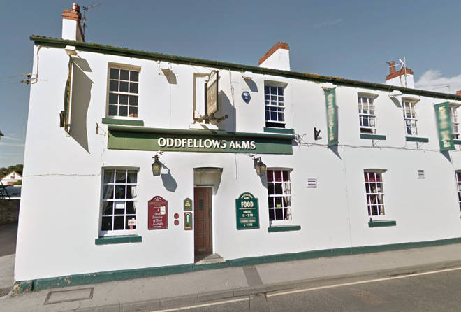 The Oddfellows Arms has received a torrent of abuse since announcing the ban