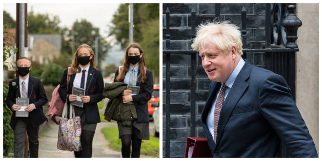 """Boris Johnson is battling a growing number of Tory backbenchers who oppose the inclusion of children in the Government's new """"rule of six"""""""