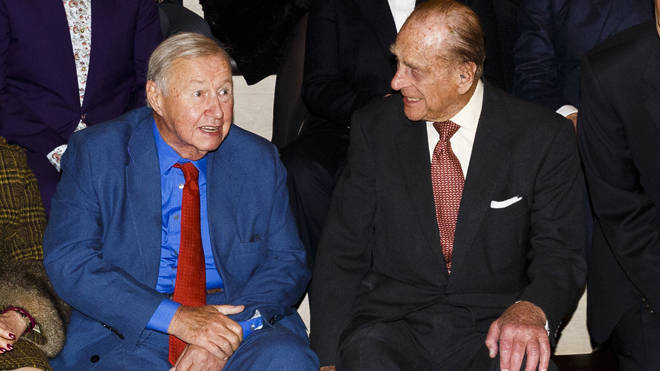 Sir Terence Conran and the Duke of Edinburgh pictured together at the opening of The Design Museum in London in 2016