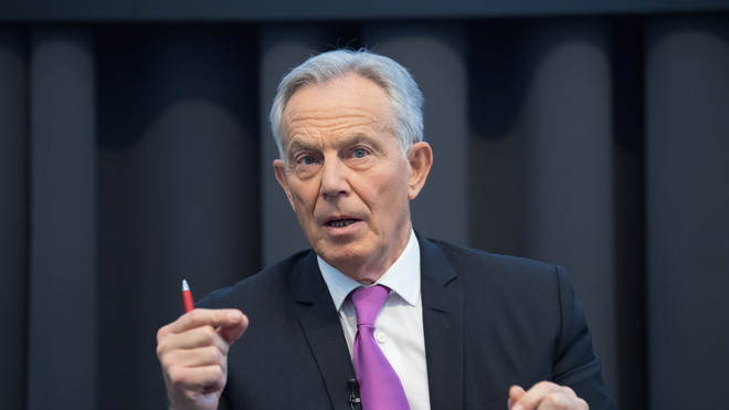 Tony Blair has said people without coronavirus symptoms should be tested