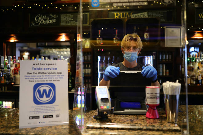 Dozens of Wetherspoon staff have tested positive for coronavirus