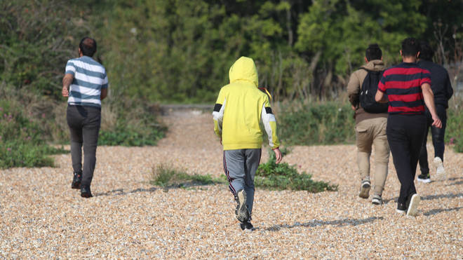 More than 6,100 migrants are believed to have made the crossing into the UK
