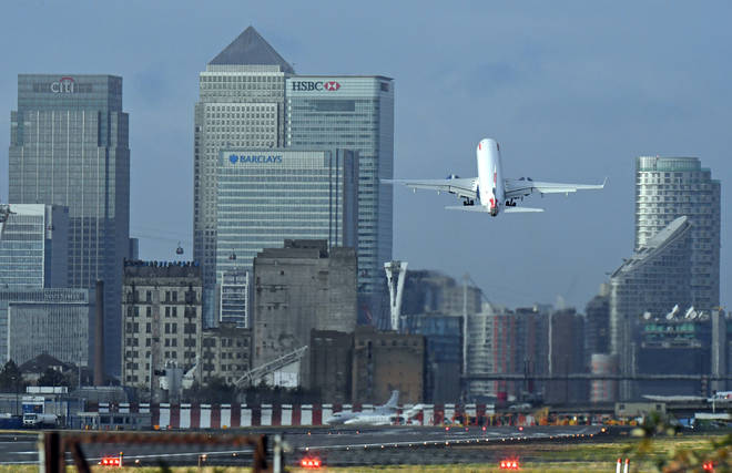 London City Airport said the restructuring could affect 35% of roles