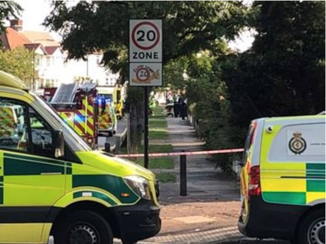 The crash occurred in Kidbrooke, south east London