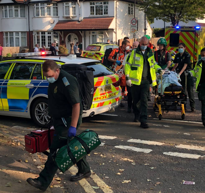 One man died and several others were injured