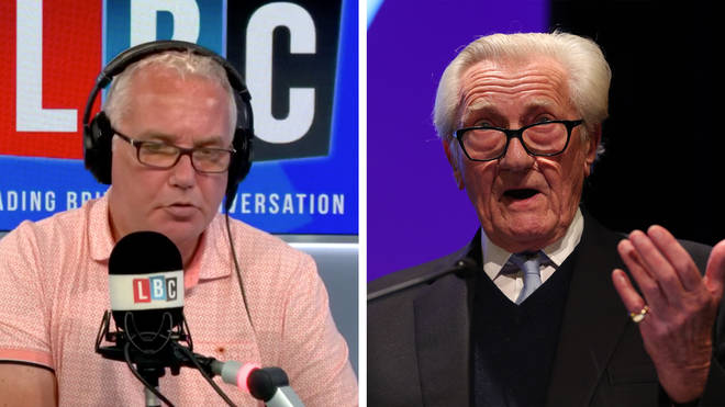 "Lord Heseltine shared his outraged at the ""crass misjudgement"" the PM has made over new Brexit Bill"