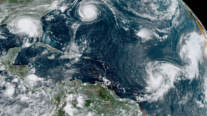 Hurricanes in the Atlantic