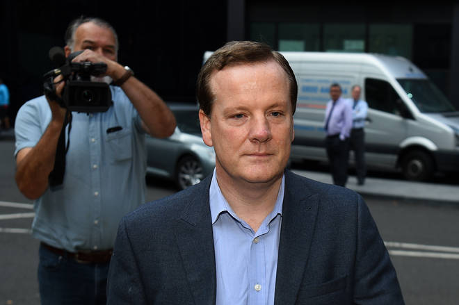 Former Conservative MP Charlie Elphicke arriving at Southwark Crown Court in London