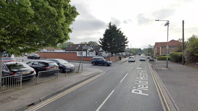 The Metropolitan Police said they were called to Pield Heath Road near the junction with Copperfield Avenue