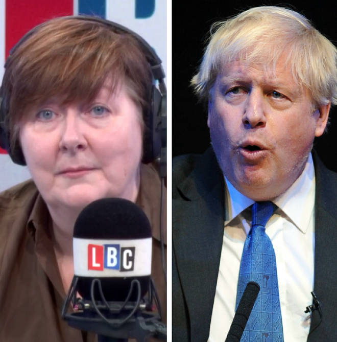 Shelagh Fogarty was taking calls on Boris Johnson's conference speech
