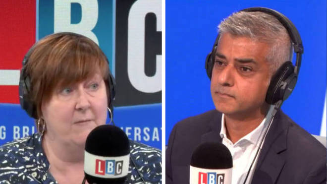 London Mayor Sadiq Khan opens up on LBC about the abuse he receives