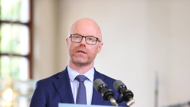 Stephen Donnelly reportedly fell ill following a cabinet meeting earlier today, and according to local reports is now awaiting the results of a coronavirus test