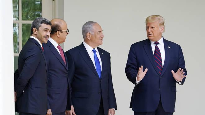 Trump US Mideast