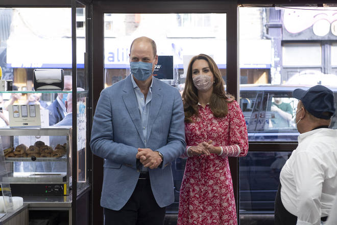 The Duke and Duchess of Cambridge visited Beigel Bake Brick Lane Bakery in east London