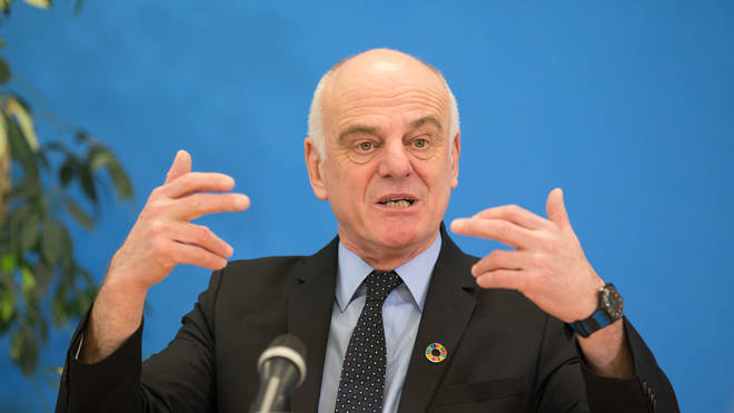 David Nabarro has warned we are only at the beginning of the pandemic