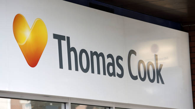 A Thomas Cook shop