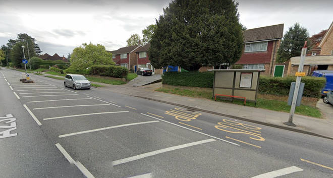 The attempted abduction took place on Crofton Road, Orpington