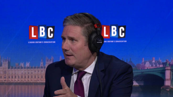 Sir Keir Starmer was forced to self-isolate after a member of his family showed symptoms