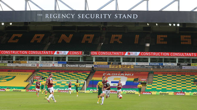 File photo: Norwich City will host fans at Carrow Road this weekend