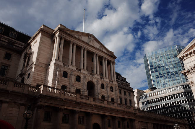 The Bank of England uses inflation to help determine the base interest rate
