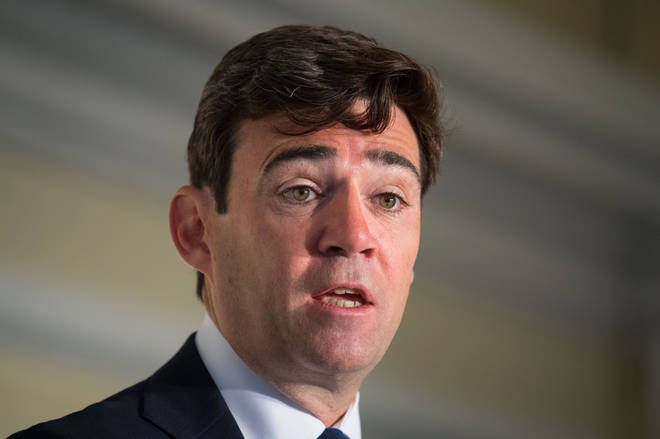 Andy Burnham made the statements during his virtual press conference