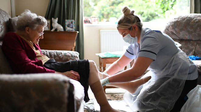 The total funding in care homes to tackle coronavirus now totals more than £1.1bn