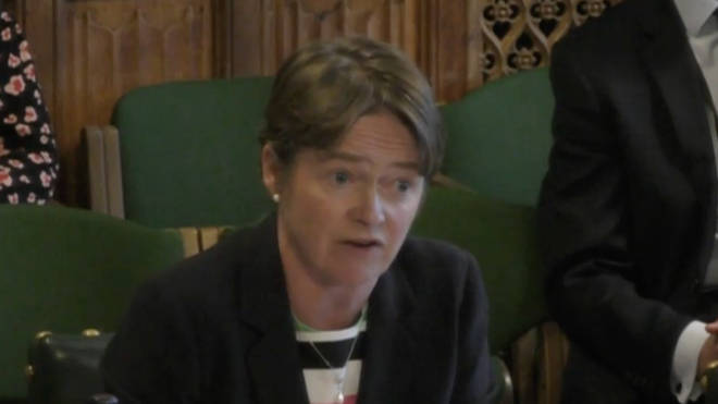 Baroness Harding told the hearing test demand is outweighing capacity