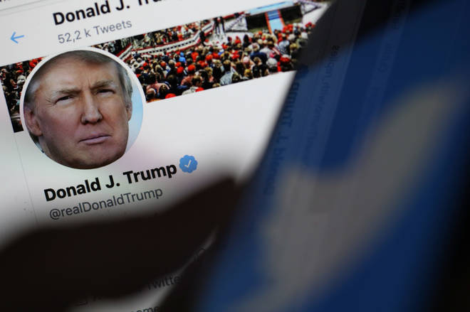 Twitter has added a warning label to one of US president Donald Trump's tweets