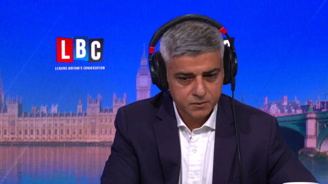 The Mayor was speaking to LBC about the abuse he has recieved