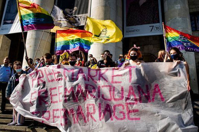 "Local councils in the UK are starting to discuss thier links with Polish towns within these ""LGBT Free Zones"""