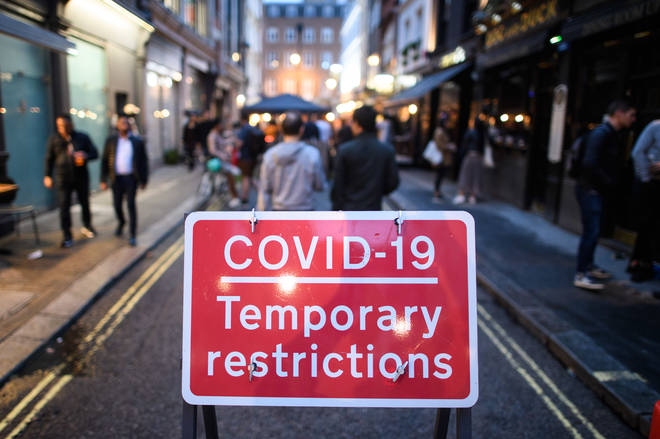 The Government is asking people to stick to current coronavirus restrictions to avoid a full lockdown