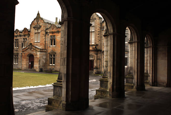 St Andrews has asked students to stay in 'voluntary lockdown'