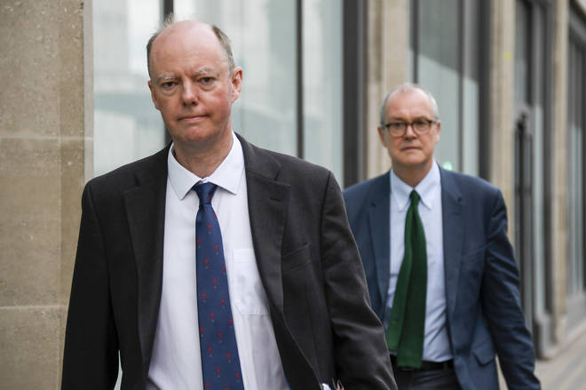 Professor Chris Whitty and Sir Patrick Vallance warned of a potential second wave