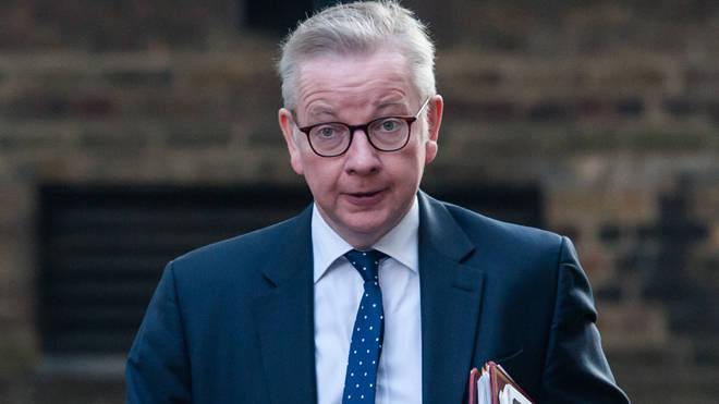 Michael Gove said people should work from home if they can do so