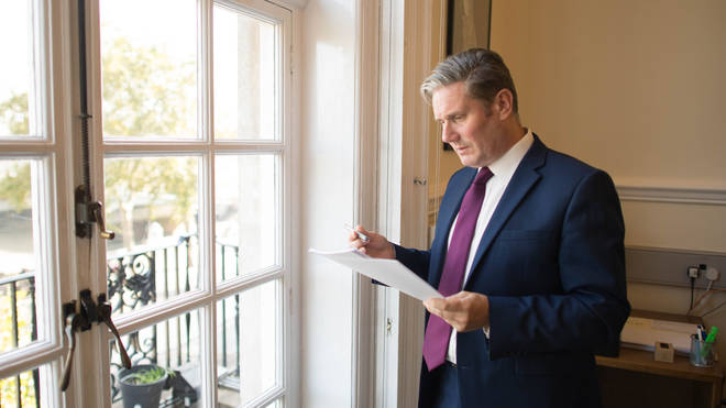 Keir Starmer said the Labour Party is under new leadership