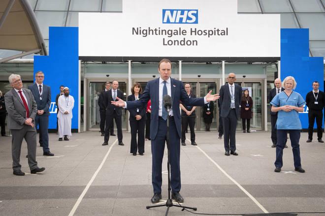 Nightingale hospitals were created across the UK