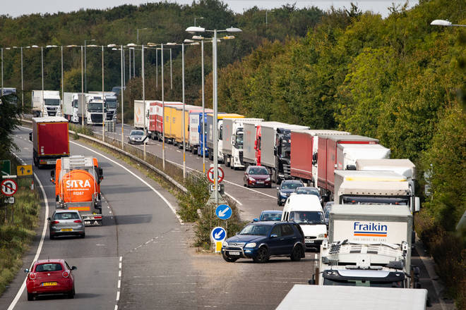 Lorry queues of up to 7,000 trucks could become the norm for months after the Brexit transition period