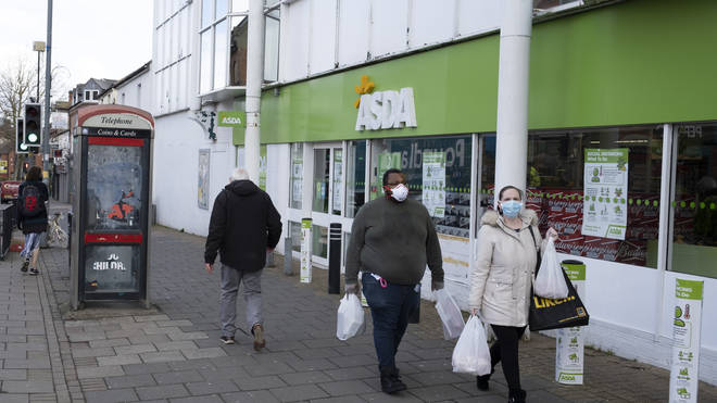 Asda will crack down on face mask use in store