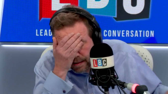 The caller's tale left James O'Brien with his head in his hands